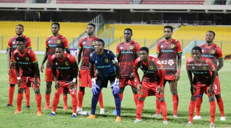 Maxwell Konadu names Kotoko squad for Berekum Chelsea game; Fabio Gama & others included