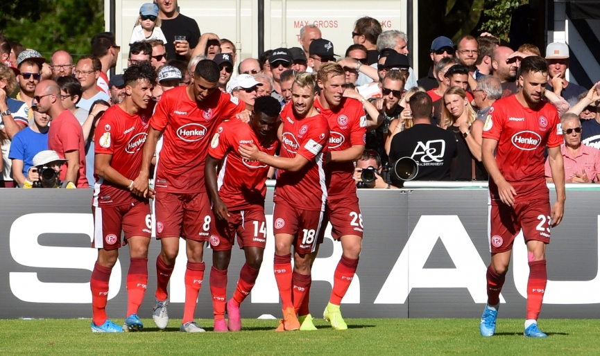 Ghanaian duo Kelvin Ofori and Nana Ampomah score to propel Fortuna Düsseldorf to victory in German Cup
