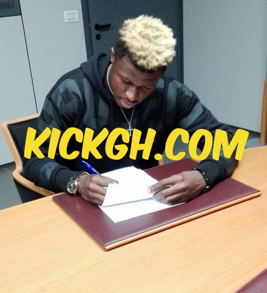 BREAKING: EPL side Watford FC sign Ghanaian youngster Kwasi Sibo