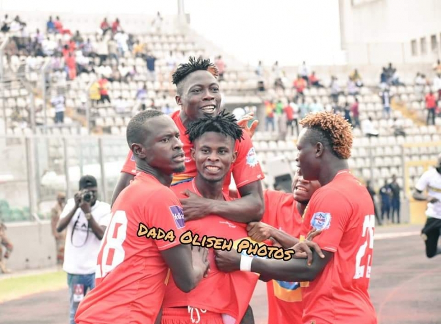 MATCH REPORT: Asante Kotoko 2-0 Kano Pillars - 10-man Porcupine Warriors beat Kano Pillars to progress in Champions League