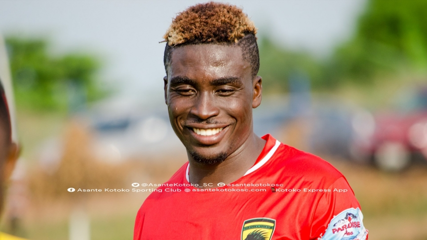 OFFICIAL: Patrick Yeboah joins Kotoko