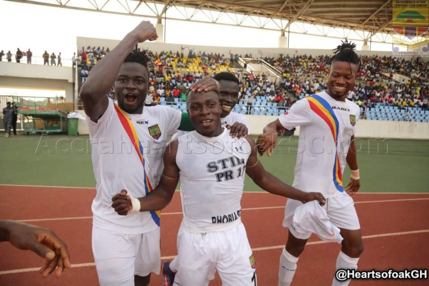 MATCH REPORT: Hearts of Oak 1-0 Dreams FC - Rainbow boys silence 'Stubborn' Dreams