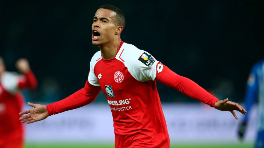 Robin Quainson on target for Mainz 05 In DFB Pokal