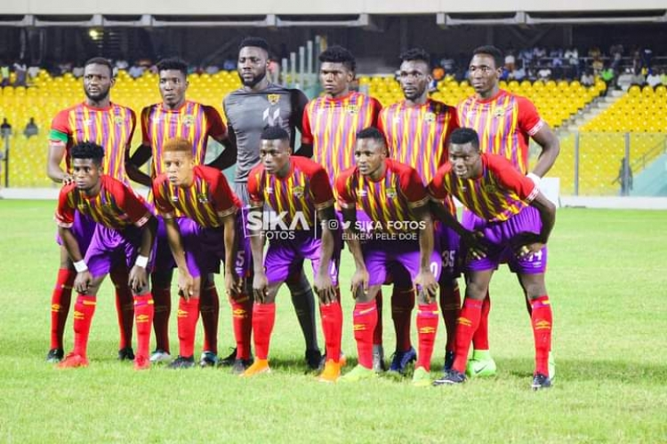 How Hearts of Oak could line up against Aduana Stars on Saturday