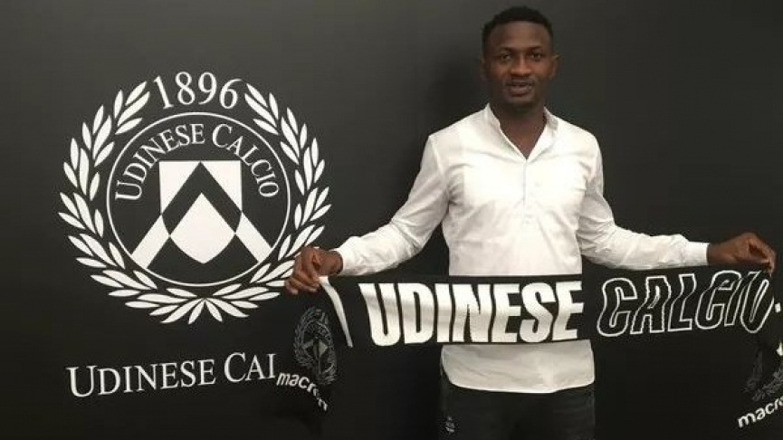 BREAKING: Nicholas Opoku joins Italian Serie A club Udinese