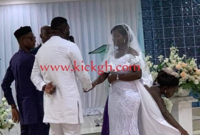 Kotoko's David Obeng Nyarko marries longtime girlfriend in Kumasi (+PHOTOS)