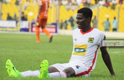 Evans Owusu declared surplus to requirements at Asante Kotoko