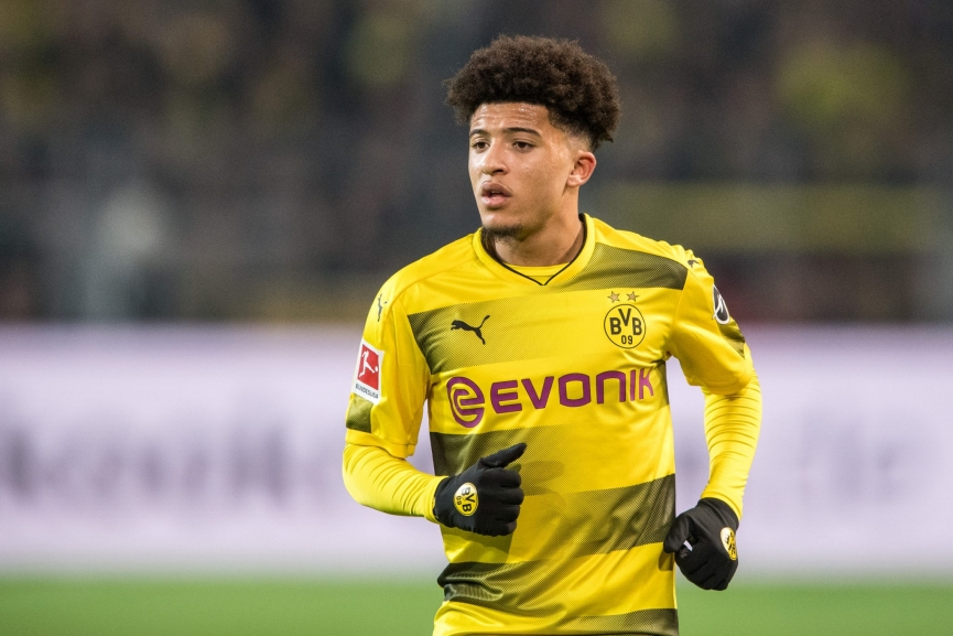 Jadon Sancho names surprise ex-Chelsea man as one of the 'top players' in the Bundesliga