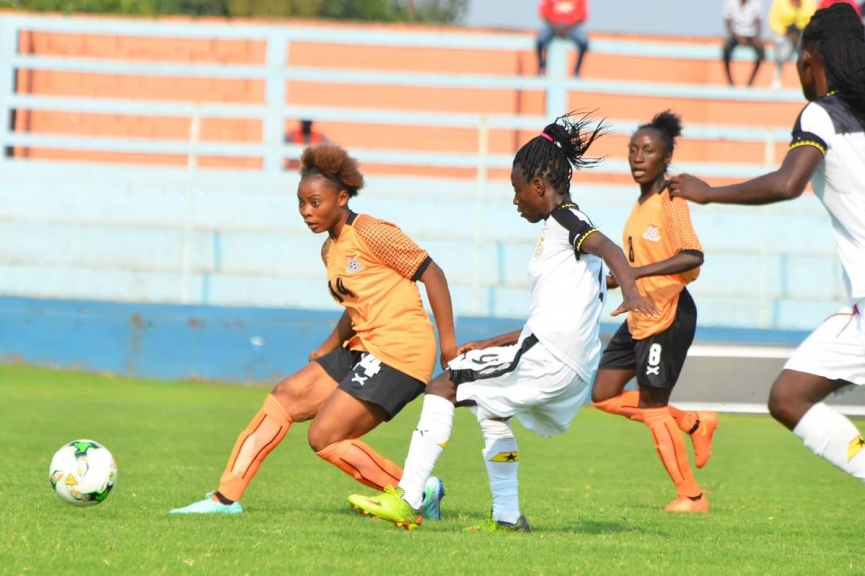 MATCH REPORT: Black Queens suffer painful defeat to Zambia ahead of 2018 AWCON