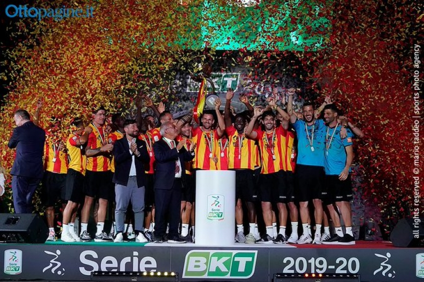 Ghanaian duo Basit and Gyamfi secure Serie A promotion with Benevento Calcio