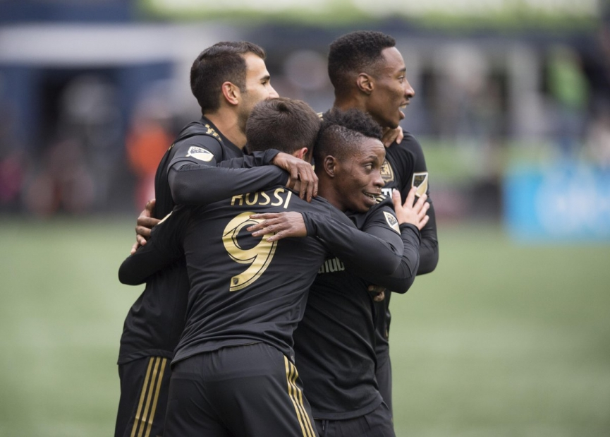 Latif Blessing inspires Los Angeles FC to first MLS victory