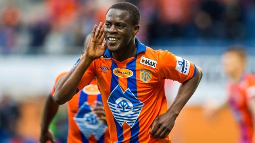 Edwin Gyasi scores to grab vital points for Aalesund FK in Norway