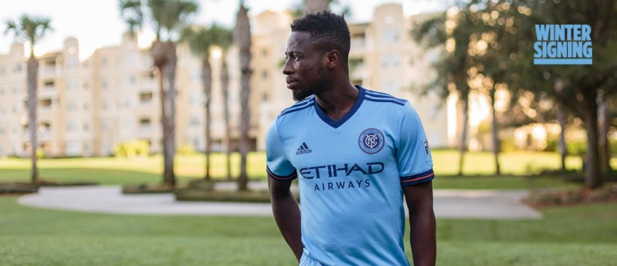 OFFICIAL: Ebenezer Ofori joins MLS side New York City FC