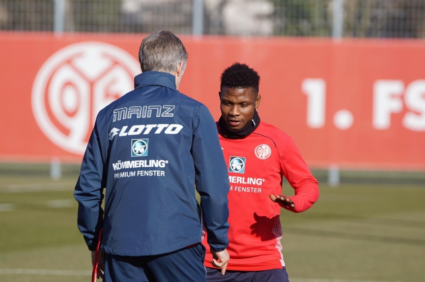 Sigh of relief for Mainz 05 as Issah Abass recovers from injury