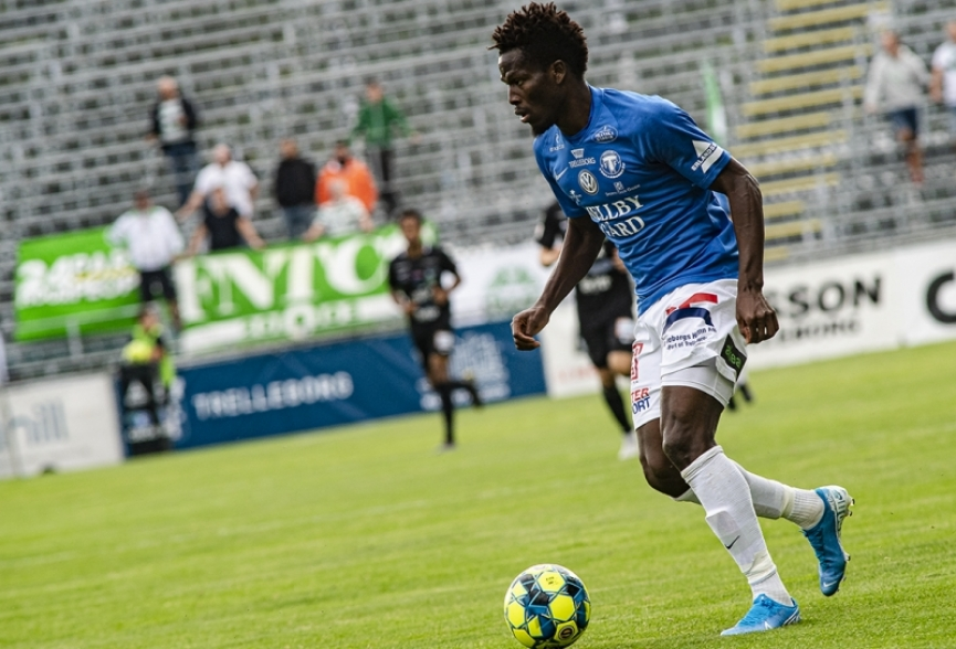 Abdul Fatawu scores again to power Trelleborgs FF to victory