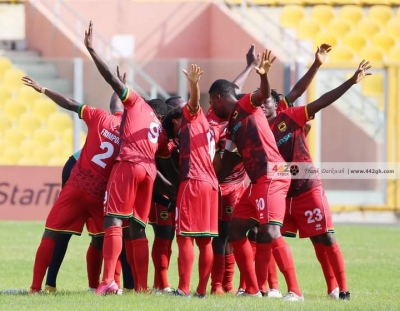 Asante Kotoko to miss midfield duo in midweek clash with Ebusua Dwarfs
