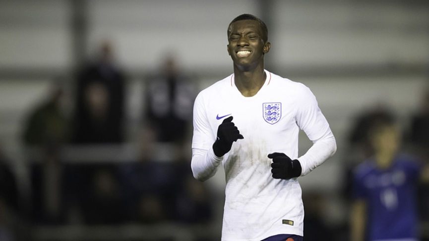 Ghanaian-born Eddie Nketiah scores as England hold Czech Republic