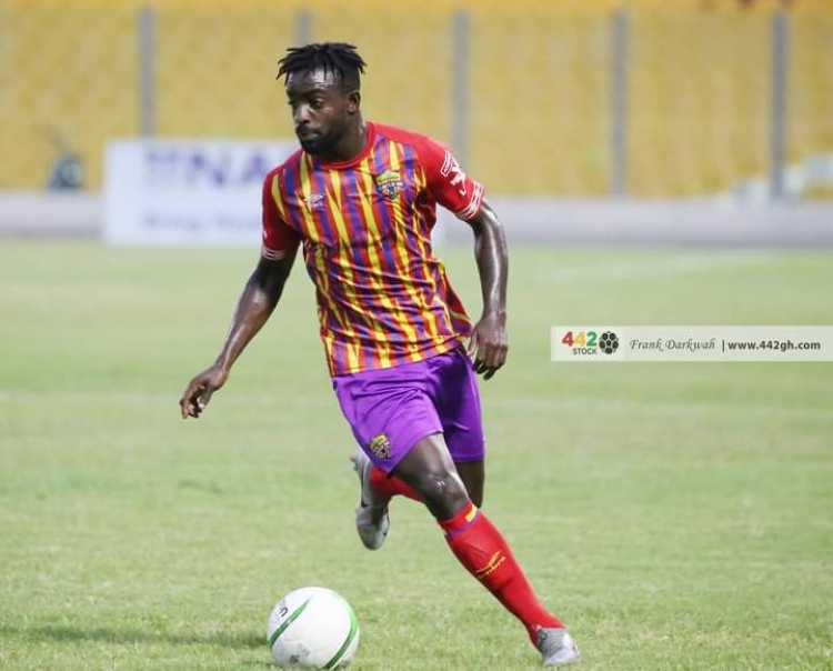 Hearts of Oak's Ansah Botchway ruled out of Inter Allies game