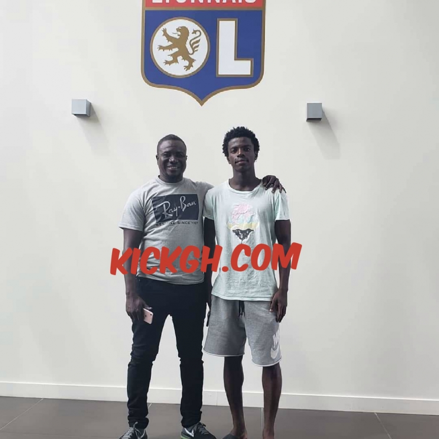 BREAKING NEWS: French giants Olympique Lyon sign Ghanaian youngster Emmanuel Danso
