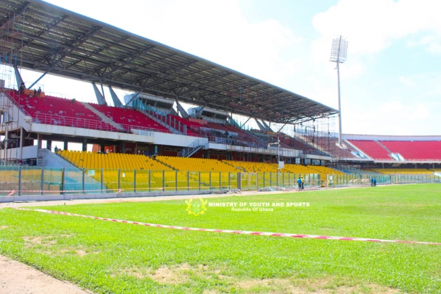 6 Stunning Pictures of the 'Renovated' Accra Sports Stadium