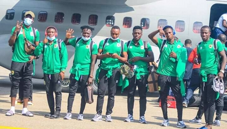 Kotoko arrives in Ghana after FC Nouadhibou draw (+PHOTOS)
