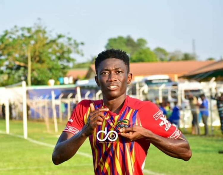 Hearts youngster Manaf Gumah out of Berekum Chelsea clash on Sunday