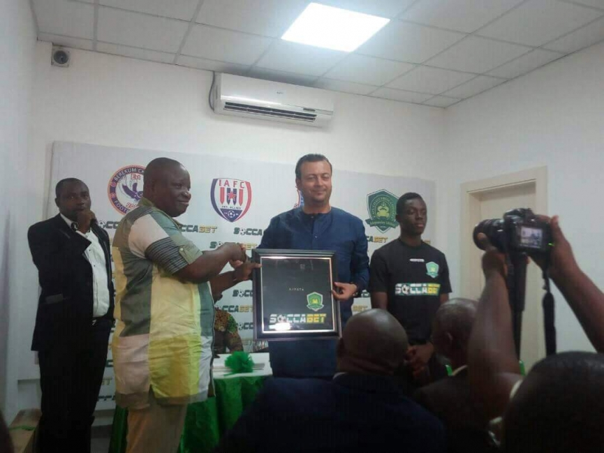 Berekum Chelsea and three GPL clubs land SoccaBet Sponsorship deal