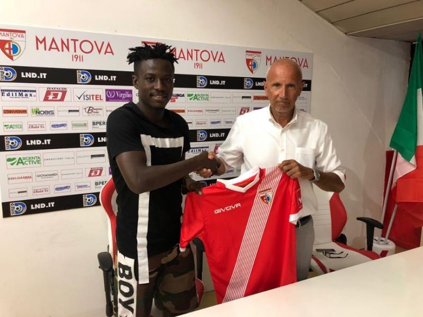 David Yeboah joins Italian club Mantova