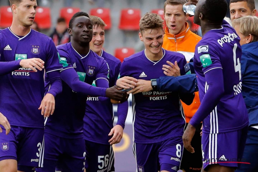 Dauda Mohammed features in Anderlecht away win