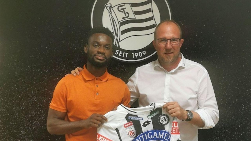 OFFICIAL: Isaac Donkor joins Austrian club SK Sturm Graz