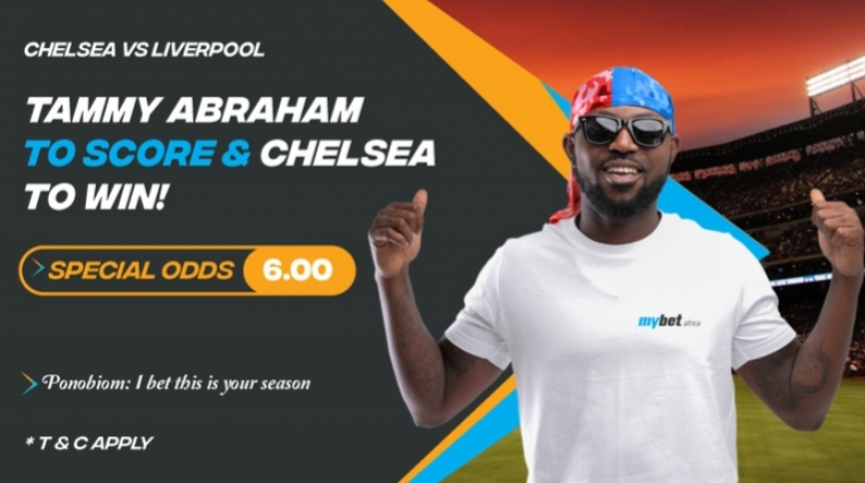 Chelsea's Tammy Abraham to score and stop Liverpool's winning sprint - Mybet.africa