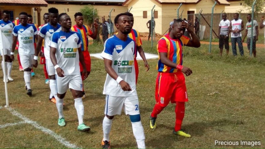 MATCH REPORT: Berekum Chelsea 3-0 Hearts of Oak - the Blues wallop Rainbow boys