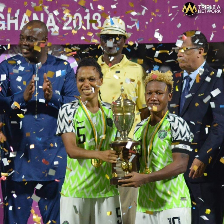 MATCH REPORT: Nigeria beat South Africa on penalties to clinch ninth AWCON title