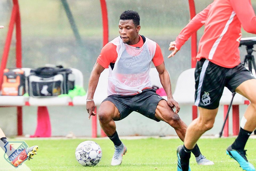 Issah Abass returns to FC Utrecht after U23 AFCON