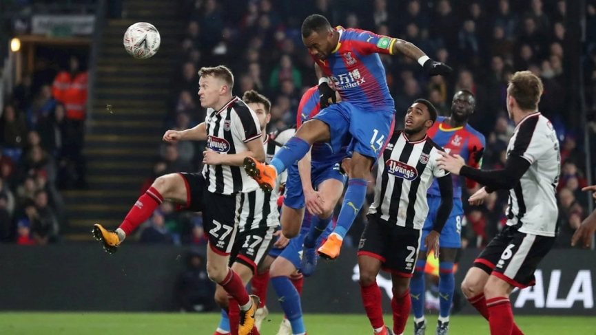 Jordan Ayew came off the bench to power Crystal Palace to victory