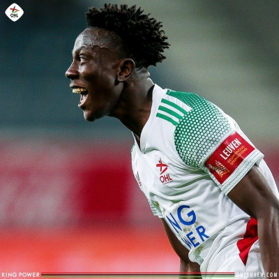 Kamal Sowah buzzing after scoring double against KAA Gent