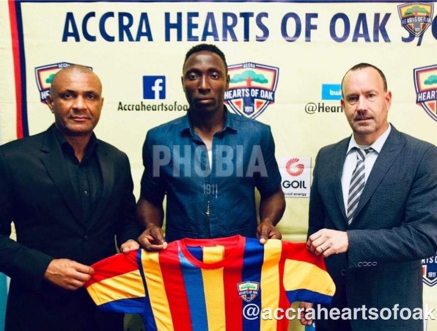 Hearts of Oak confirm Kofi Kordzi signing