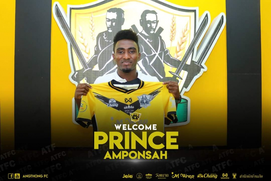 Prince Amponsah joins Angthong FC on loan