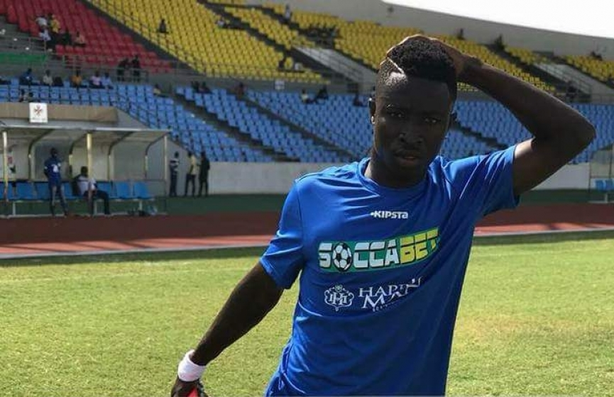 Stephen Amankona earns Ghana U20 call-up