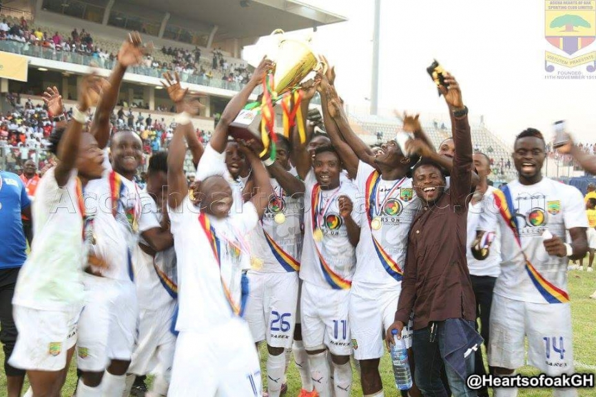 MATCH REPORT: Hearts of Oak win Ghana @60 Cup despite draw with Kotoko