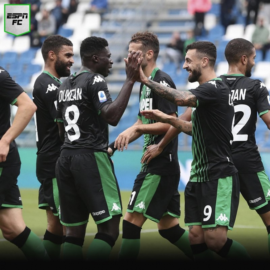 Alfred Duncan nets his first goal of the season for US Sassuolo