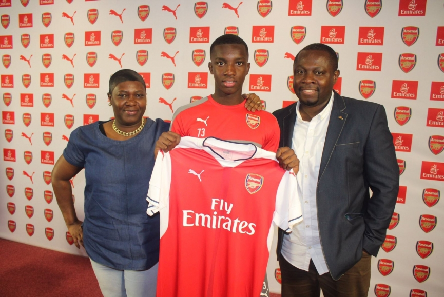 Eddie Nketiah not to play for Ghana are fabricated stories — Father speaks