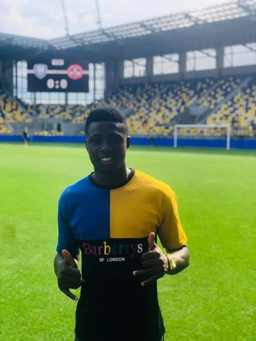 Vision FC youngster Ernest Boateng joins Slovakian club DAC 1904