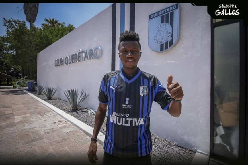 Clifford Aboagye joins Mexican side Queretaro FC