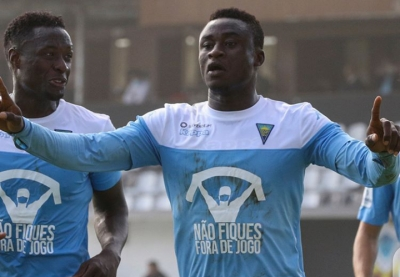 Red-hot Abdul-Aziz Yakubu scores again for Estoril to increase goal tally to four