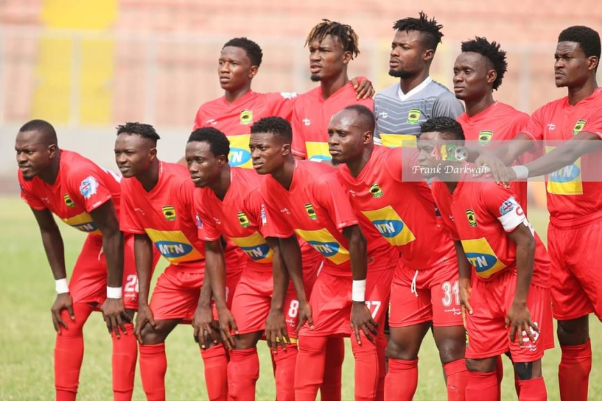 Kotoko contingent for Hearts match in London announced; Martin Antwi, Sefah & others DROPPED