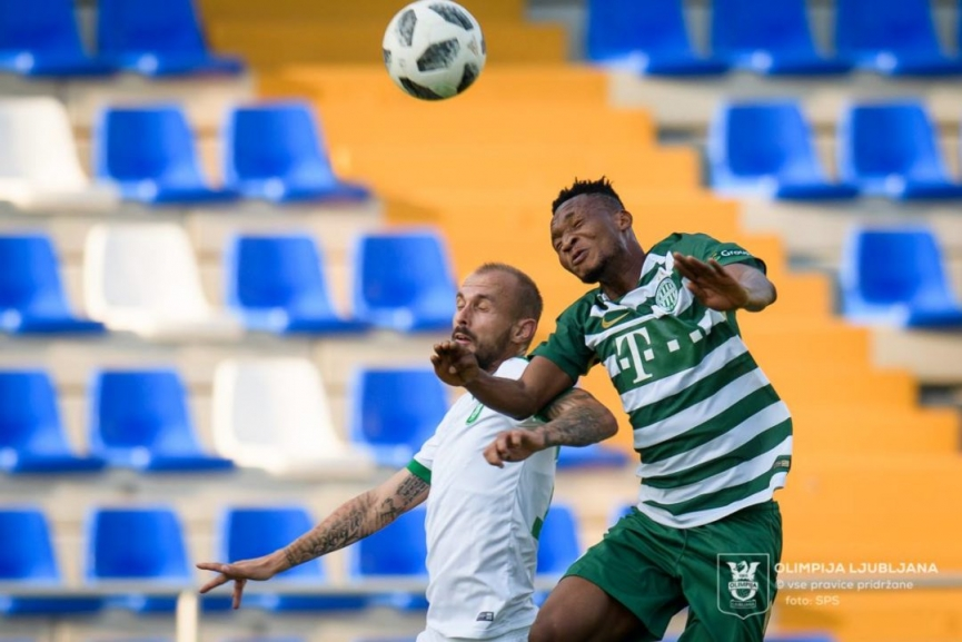 Latif Anabila excels on Ferencvarosi TC debut