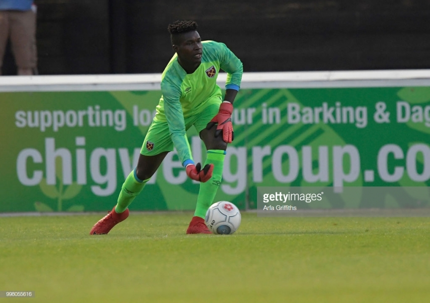 Young Ghanaian goalkeeper Joseph Anang makes West Ham debut