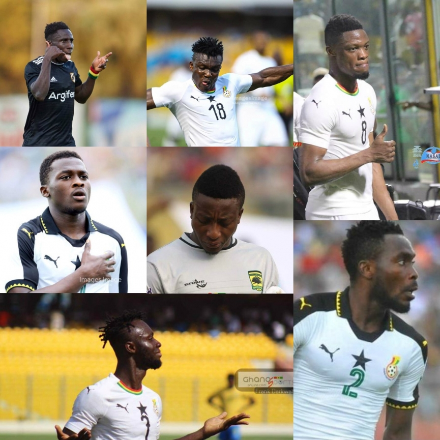 Meet the SEVEN debutants in Ghana's Squad for 2019 AFCON