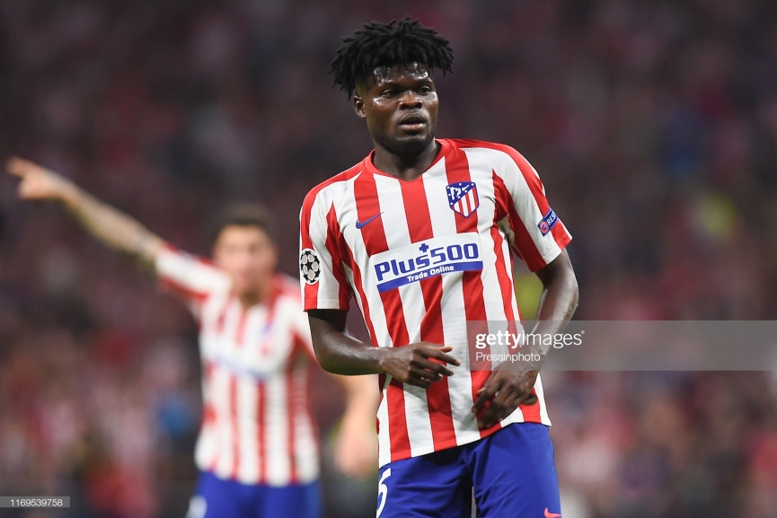 Real Madrid step up chase for Thomas Partey